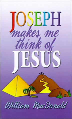 Joseph Makes Me Think of Jesus (Gospel Press Folio)