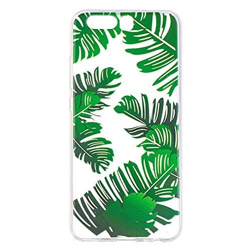 Qiaogle Telefon Case - Weiche TPU Case Silikon Schutzhülle Cover für Apple iPhone 7 / iPhone 8 (4.7 inch) - LF28 / Pferd LF29 / Bananen blätter