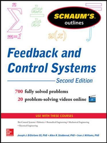 Schaum's Outline of Feedback and Control Systems, 2nd Edition (Schaums' Engineering)