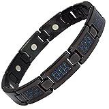 MPS Titan magnetische Armband für Männer mit Klappschließe - Mit Einer Kostenlosen Tool, um Links zu entfernen