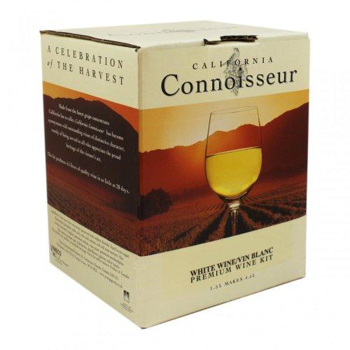 Balliihoo Homebrew vino bianco ingrediente-Kit California Connoisseur-Chardonnay/Semillon 6bottiglie
