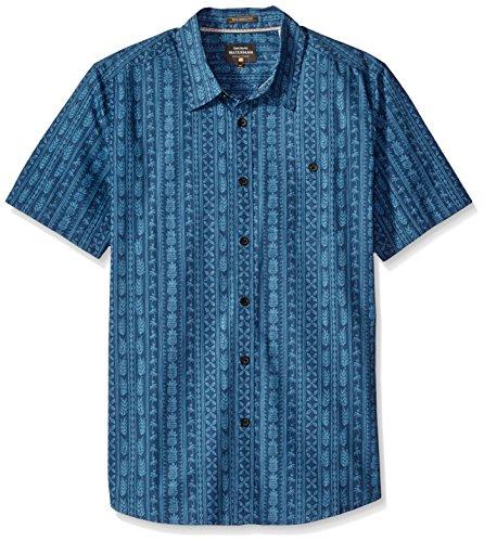 Quiksilver -camicia con colletto button-down Uomo    Ensign Blue X-Large