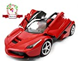 #10: Magicwand 1:16 Scale Rechargeable Remote Control LED Ferrari Toy Car -Red