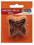 MTD 3MINI Emporte-pièces en acier inoxydable Papillon