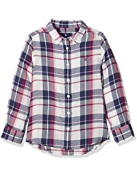 Gant O. Big Check Flannel Shirt, Blouse Fille