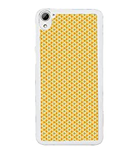 Colourful Pattern 2D Hard Polycarbonate Designer Back Case Cover for HTC Desire 826 Dual Sim