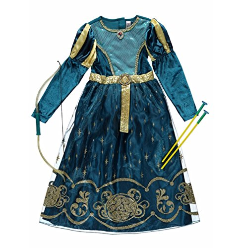 girls-disney-princess-merida-costume-dress-up-various-sizes-9-10-years