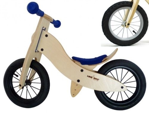 Preisvergleich Produktbild LIKEaBIKE Spoky mini von Kokua Like a Bike blau Speichen Silber