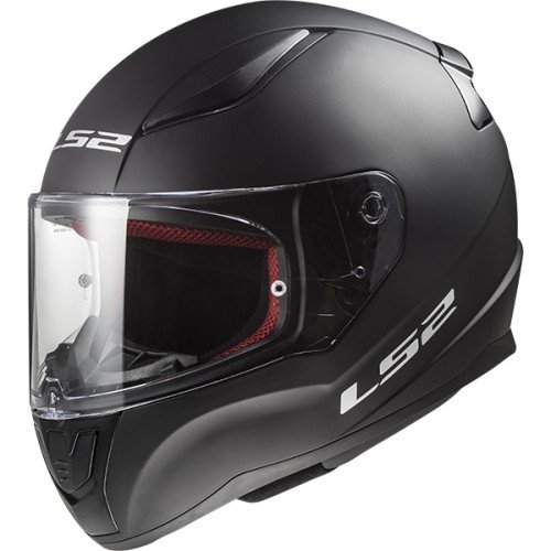 LS2 Casco Integral Rapid FF353, color negro mate, talla S