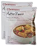 #4: Big Bazaar Combo - Parampara Ready to Cook Gravy Mix Mutter Paneer, 60g (Pack of 2) Promo Pack