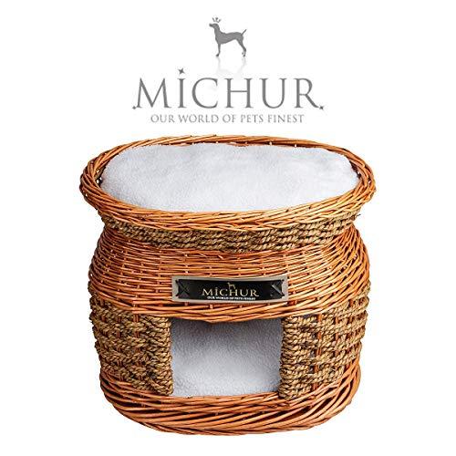 MICHUR Luke Cueva cama para perros y gatos