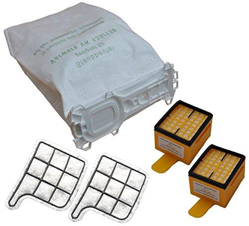 Spar SET 18 Staubsaugerbeutel Vlies + 2 Hygienefeinfilter + 2 Motorschutzfilter geeignet für Ihren Vorwerk Kobold 135 136 135SC VK 135 VK 136