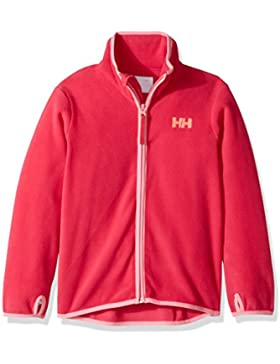 Helly Hansen K Daybreaker Fleece Jacket Forro, Niños, Rosa (127 Bright Rose), 92 cm/2 Años
