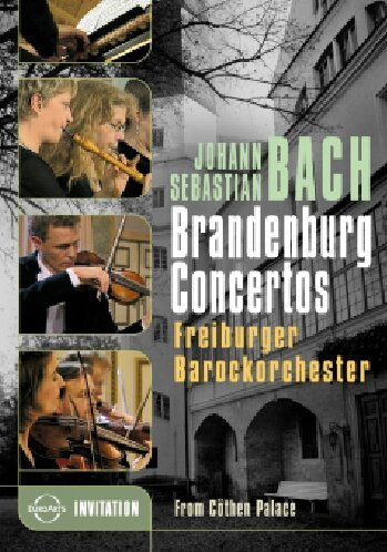 Bach, Johann Sebastian - Brandenburgische Konzerte 1-6 (NTSC)