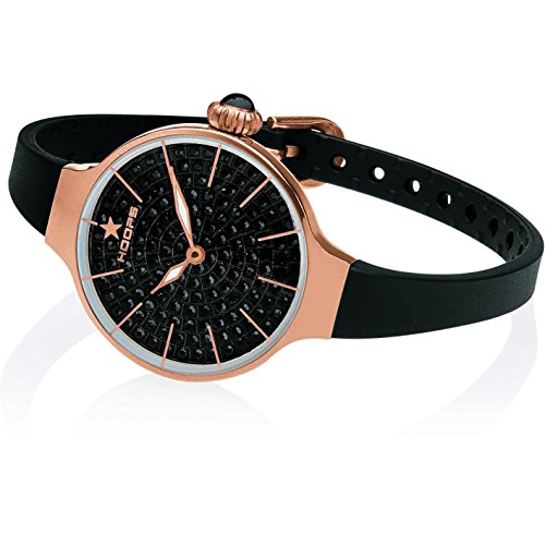 Orologio Donna Chérie Diamond 160 Rose Gold Nero Hoops