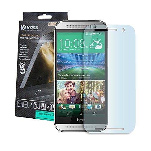 VAKOSS PTV 8101-T HTC One E8 Hartglass 9H, Panzerglas, Displayschutzglas, Tempered Glass