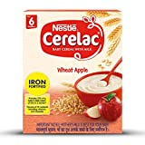 Nestle Cerelac Iron Fortified Baby Cereal with Milk - 300g (Wheat Apple)