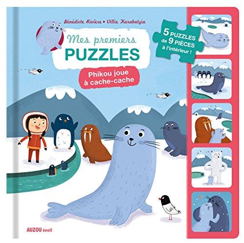 Auzou - Mes premiers puzzles - Phikou joue  cache-cache