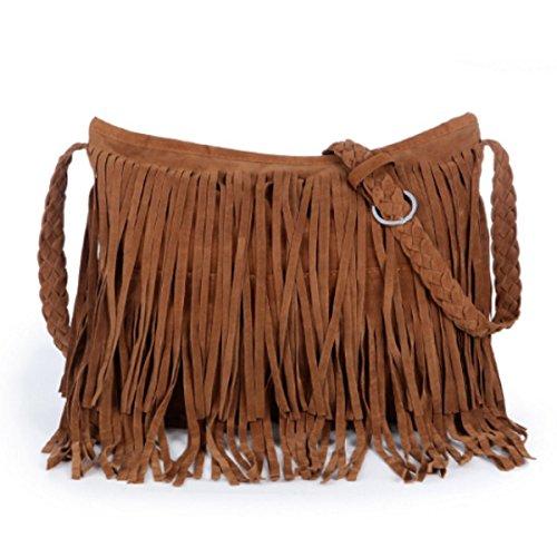 Frauen-Koffer Umhängetasche Mode Einfache Handtasche Camel