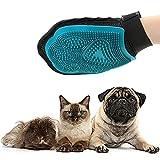 QINAIDI Hundekatze Haarkamm - Reinigungsbürste Kamm - Tiermassage Haarentfernung Hundebad Handschuh - Hundesalon Produkte