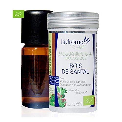 Ladrôme Huile Essentielle Biologique Bois de Santal 5 ml