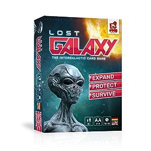 Rudy Games- Lost Galaxy 2019 - Juego Interactivo acompañado con aplicación para niño de 8 años en adelante y Adultos, Color azul, 18x13x4cm
