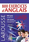 800 exercices d'anglais