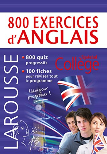 800 exercices d'anglais par Collectif