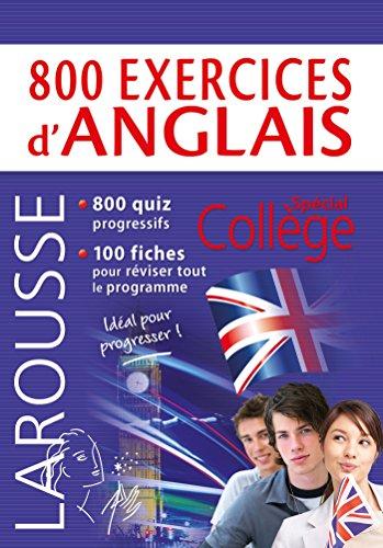 800 exercices d'anglais par From Larousse
