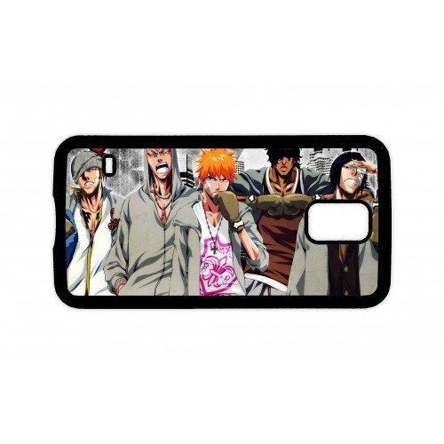 Manga Anime giapponese Bleach-Custodia per telefono, 14 cm, confezione regalo, PLASTICA, Black Phone Case, Apple iPhone 4 / 4S