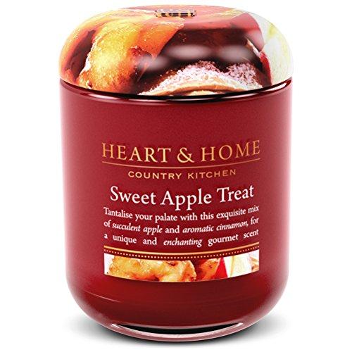 Kleine Duftkerze im Glas Sweet apple behandeln (Apple Behandeln)