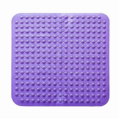 QHQH Quadratische Duschmatte,Duscheinlage mit Saugnäpfen Rutschfeste Badematte Einlage für Duschkabine,80cm * 80cm - Mehrfarben optional