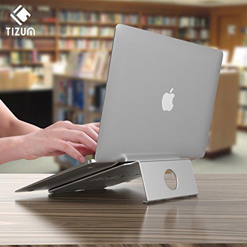 Tizum Anodised Aluminium Laptop Stand (Silver)