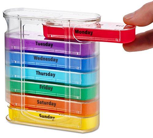 Organizador semanal de pastillas MEDca, para...