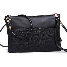 Tongshi Las mujeres de moda bolso bandolera bolso grande damas monedero