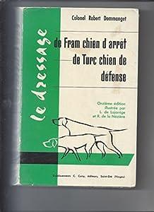 Le dressage de fram chien d'arrêt de Turc chien de défense
