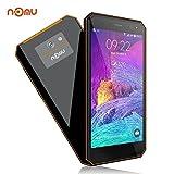 Outdoor Handy IP68 Android 7.0, NOMU M6 4G Rugged Smartphone Ohne Vertrag, 5,0 Zoll IPS MTK6737T Quad Core 1.5GHz Dual Sim 2GB RAM+16GB ROM, 13MP+5MP Kameras, Wasserdichte/Stoßfest/Staubdicht(Orange)