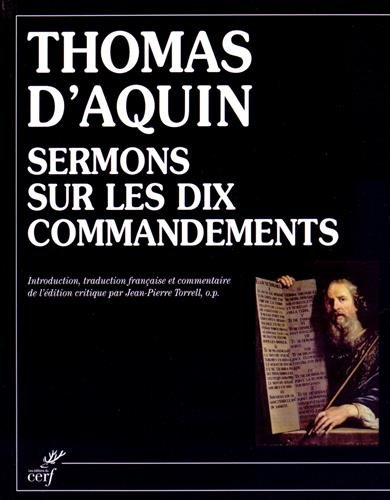Sermons sur les Dix Commandements (Collationes de decem perceptis)