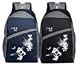 Chris & Kate Combo-Pack of 2Pcs New Stylish Backpacks ||College Laptop || Casual