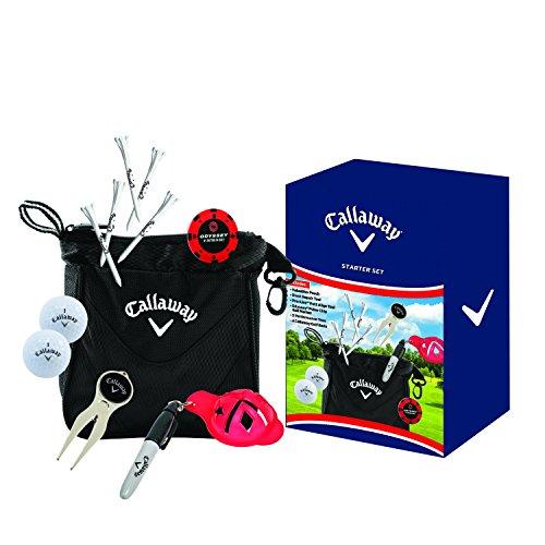 Callaway Golf Geschenk-Set, 6Stück, unisex - erwachsene, Starter, Einheitsgröße (Callaway Golf-bälle-tasche)