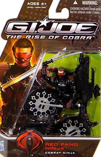 G.I. Joe Red Fang Ninja - Cobra Ninja - The Rise of Cobra - Actionfigur von Hasbro