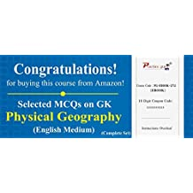 3600 Selected MCQs on GK - Physical Geography (Complete Set)