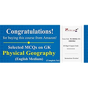 3600 Selected MCQs on GK – Physical Geography (Complete Set) [Download: Registration Code]
