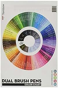 Tombow blending Palette + TABLEAU DE COULEUR, Blanc,