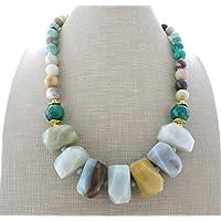 60c948153069 Amazon.es  Collares Piedras  Handmade