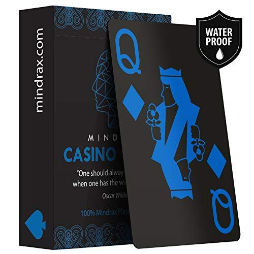 Mindrax ® wasserfeste Designer Spiel-Karten | Poker