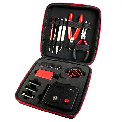 Preisvergleich Produktbild Coil Master DIYV3Wickelzubehör-Set, V3Werkzeug-Set mit Wickelhilfe (V4)/521Tab Mini-Ohm-Messgerät/Pinzette/Hitzebeständigem Draht