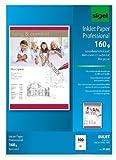 Sigel IP383 InkJet-Papier Professional, A3, 100 Blatt, spezialbeschichtet matt, weiß, 160 g