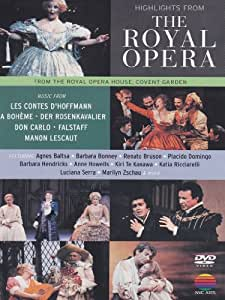 Highlights From The Royal Opera [DVD] [2011]