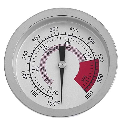 Virtue UEB Round Bi-Metal BBQ Grill Meat Food Thermometer Dial Temperature Gauge Dial Meat Thermometer